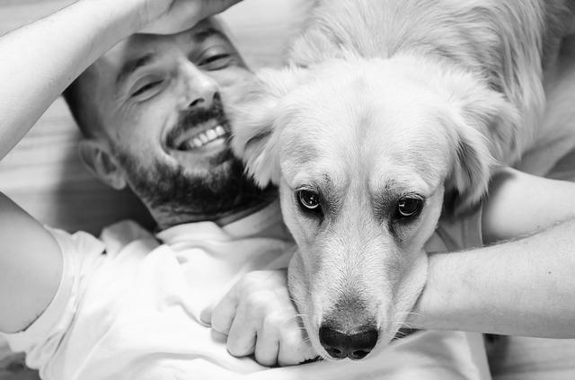muž se psem